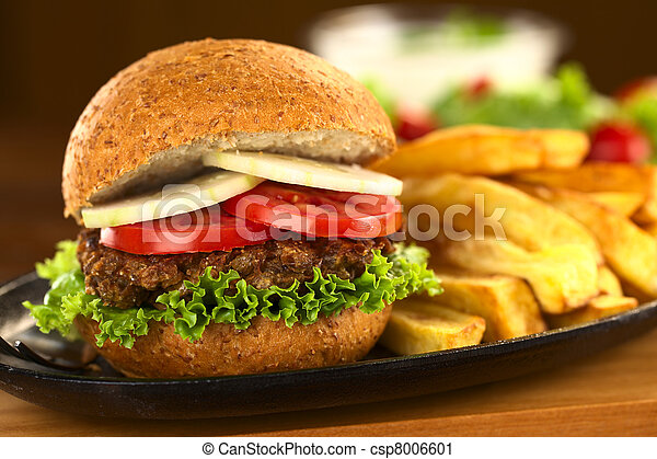 λουκάνικο , χορτοφάγοs , φακή  - csp8006601