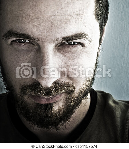 μάτια , βαθύς , αφρώδης , άντραs  - csp4157574