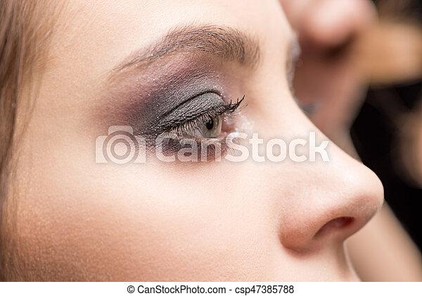 μάτι , γυναίκα , διαρρύθμιση  - csp47385788