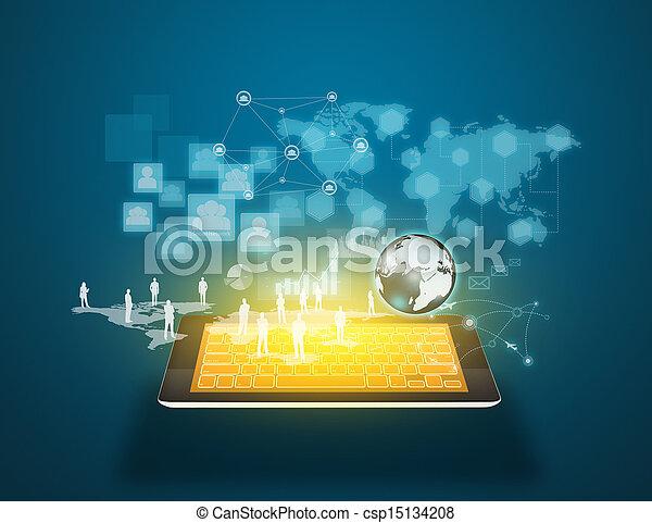 μέσα ενημέρωσης , τεχνολογία , κοινωνικός  - csp15134208