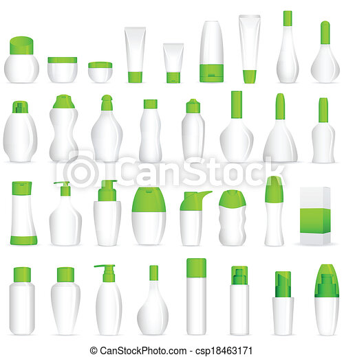 μακιγιάζ , καλλυντικό , μπουκάλι  - csp18463171