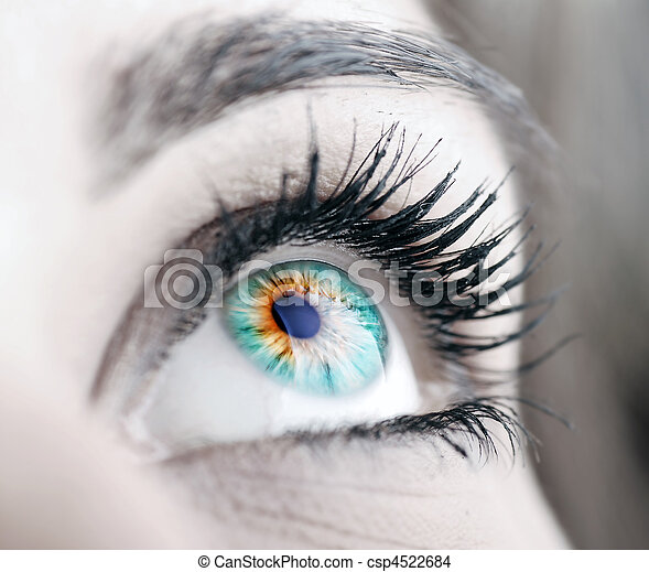 μεγάλος , μάτι , ομορφιά  - csp4522684