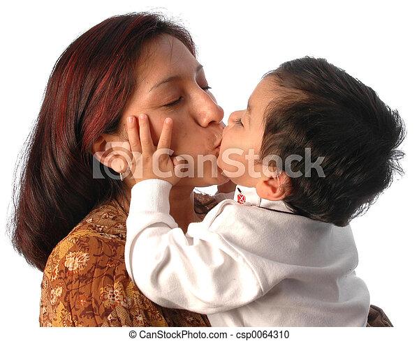 μητέρα , υιόs  - csp0064310