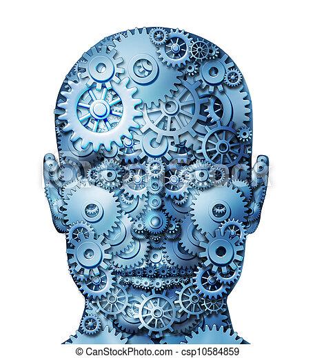 μηχανή , ανθρώπινος  - csp10584859