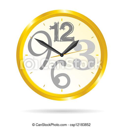 μικροβιοφορέας , ομορφιά , εικόνα , ρολόι  - csp12183852