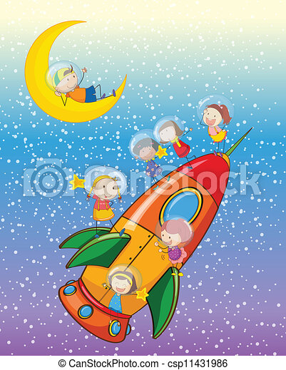 μικρόκοσμος , πύραυλοs  - csp11431986