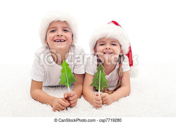 μικρόκοσμος , xριστούγεννα , γλύκισμα , ώρα  - csp7719280