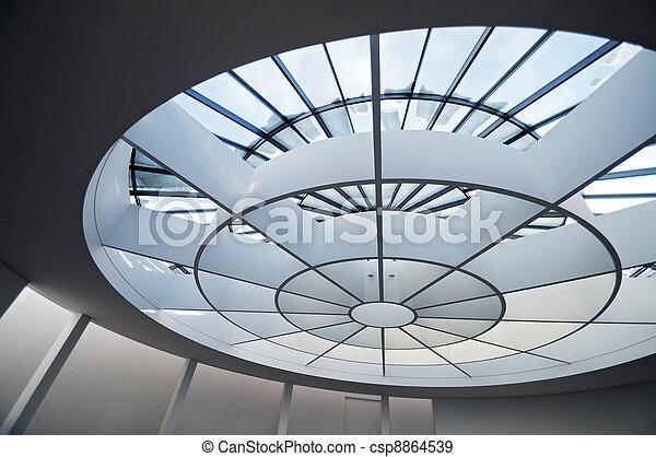 μοντέρνος αρχιτεκτονική  - csp8864539