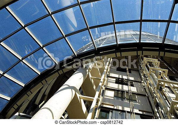 μοντέρνος αρχιτεκτονική  - csp0812742