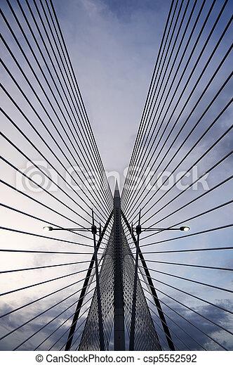μοντέρνος αρχιτεκτονική  - csp5552592