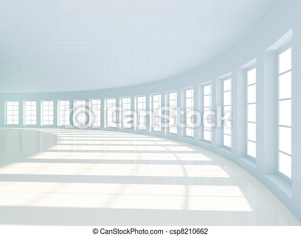 μοντέρνος αρχιτεκτονική  - csp8210662