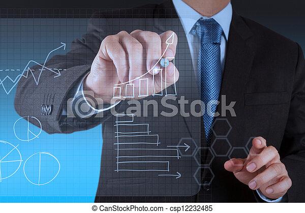 μοντέρνος τεχνική ορολογία , εργαζόμενος , επιχείρηση  - csp12232485