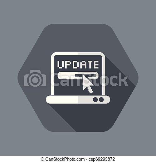 μονό , μικροβιοφορέας , απομονωμένος , εικόνα , εκσυγχρονίζω , εικόνα  - csp69293872