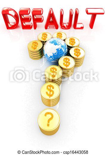 μορφή , ερώτηση , σήμα , δολάριο , χρυσός , σημαδεύω , κέρματα  - csp16443058