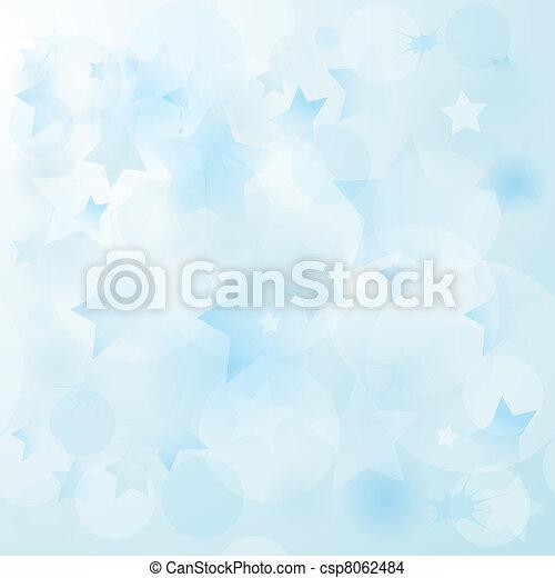 μπλε , απαλός , xριστούγεννα , φόντο  - csp8062484