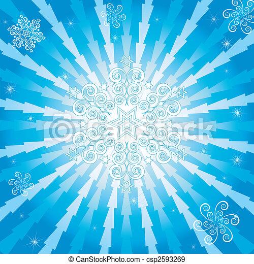 μπλε , αφαιρώ , φόντο , xριστούγεννα , (vector) - csp2593269