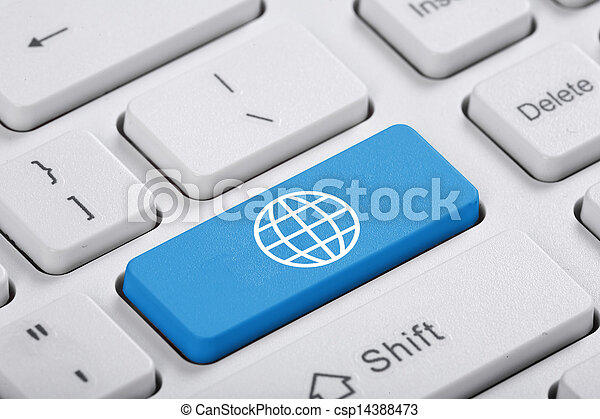 μπλε , ηλεκτρονικός εγκέφαλος απάντηση  - csp14388473