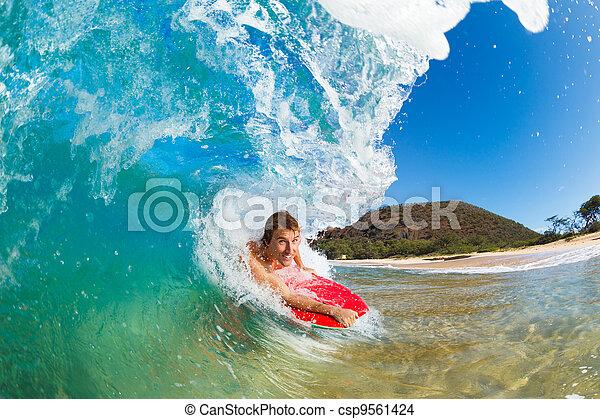 μπλε , θαλάσσιο σπορ , οικότροφος , νέγρος , οκεανόs , καταπληκτικός , κύμα  - csp9561424