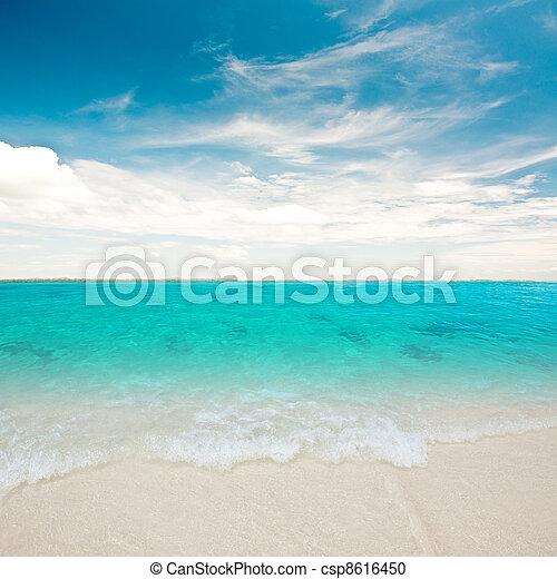 μπλε , λιμνοθάλασσα  - csp8616450