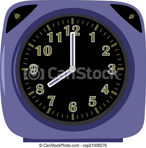 μπλε , ξυπνητήρι  - csp21008276