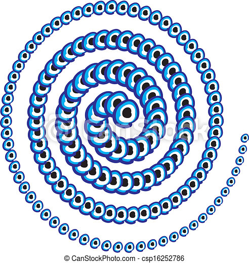 μπλε , φυλαχτό , γραμμή , μικροβιοφορέας , τέχνη  - csp16252786