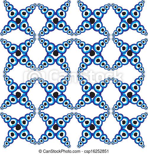 μπλε , φυλαχτό , γραμμή , μικροβιοφορέας , τέχνη  - csp16252851