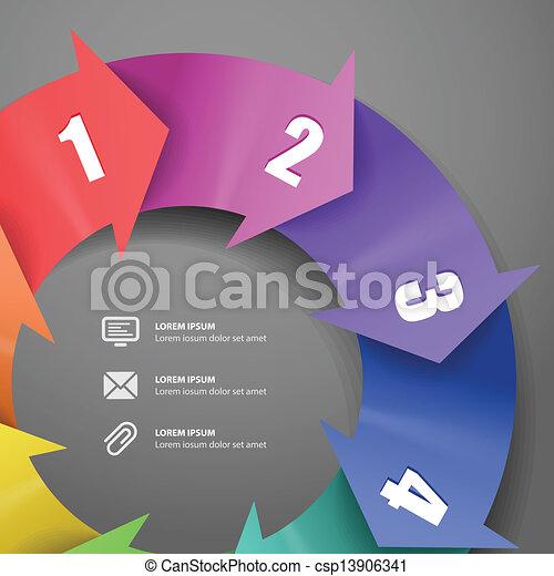 μπογιά απεργάζομαι , μοντέρνος , φόρμα , infographic - csp13906341