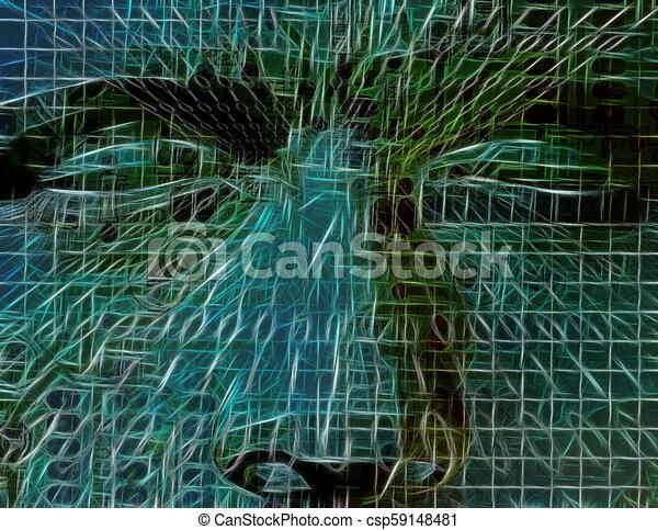 μυαλό , τεχνολογία  - csp59148481
