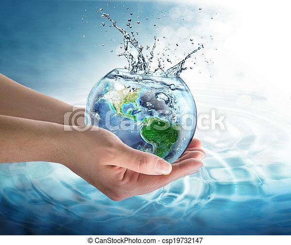 νερό , πλανήτης , συντήρηση  - csp19732147