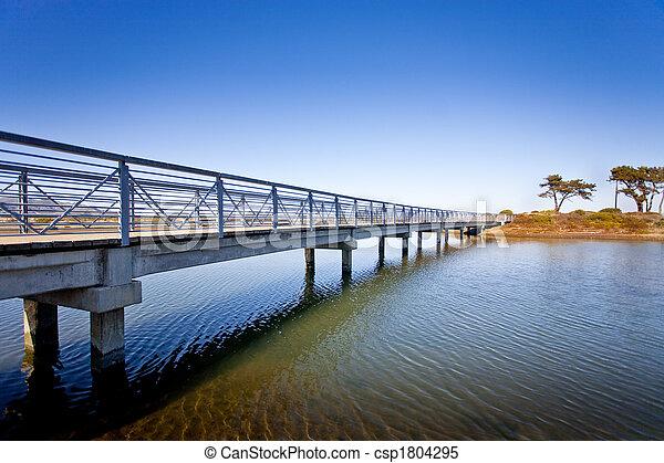 νησί , γέφυρα  - csp1804295