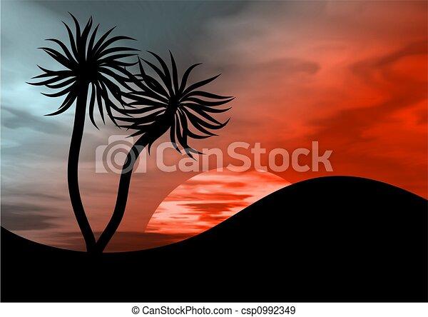 νησί , παράδεισος  - csp0992349