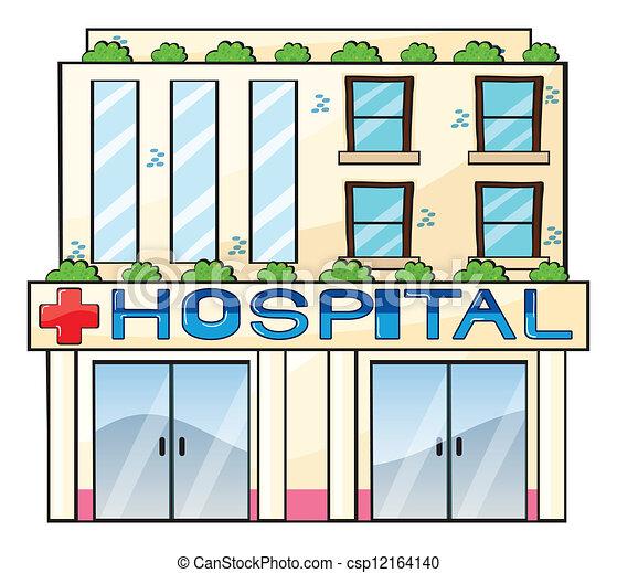 νοσοκομείο  - csp12164140