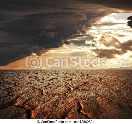 ξηρασία , γη  - csp12862604