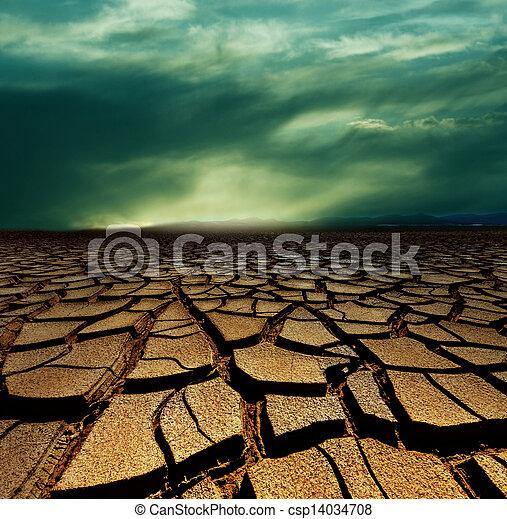 ξηρασία , γη  - csp14034708