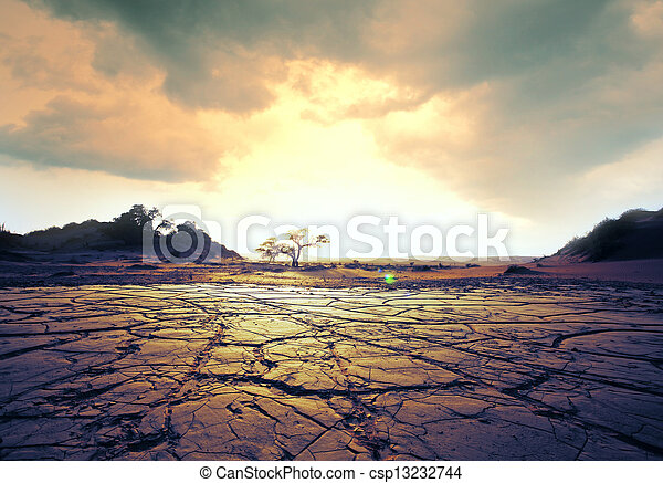 ξηρασία , γη  - csp13232744
