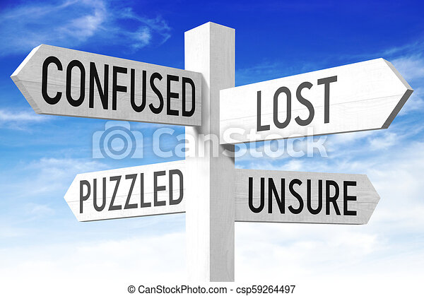 ξύλινος , οδοδείκτης , γενική ιδέα , - , αόρ. του lose  - csp59264497