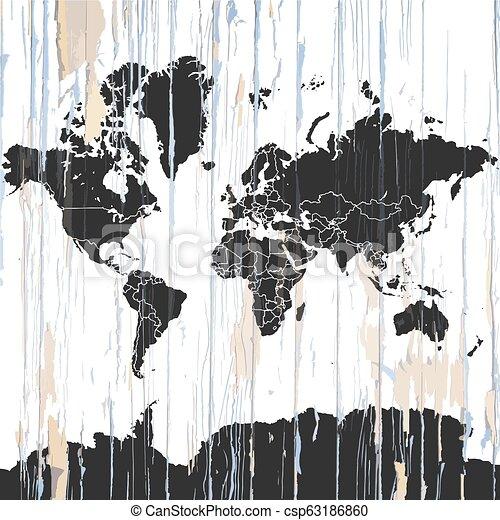 ξύλινος , χάρτηs , κόσμοs , φόντο , κρασί  - csp63186860