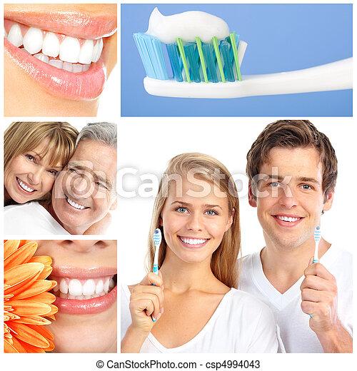 οδοντιατρικός ανατροφή  - csp4994043