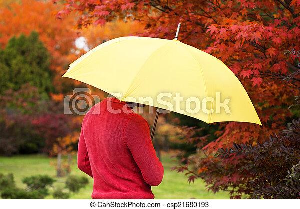 ομπρέλα , άντραs  - csp21680193