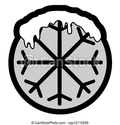 πάγοs , εικόνα  - csp12115249