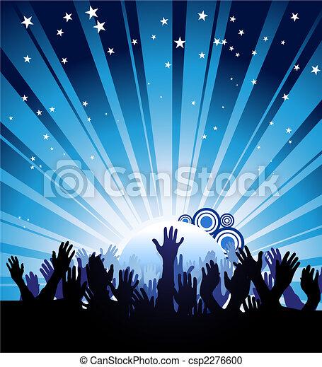 πάρτυ , αφίσα  - csp2276600