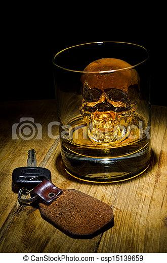 πίνω , οδηγώ , έκανα αρνητικό δεν  - csp15139659