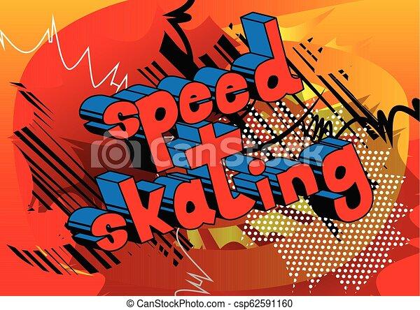 παγοδρομία , ταχύτητα  - csp62591160