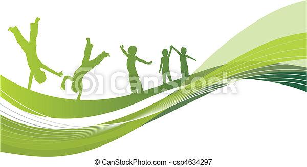 παιδιά  - csp4634297