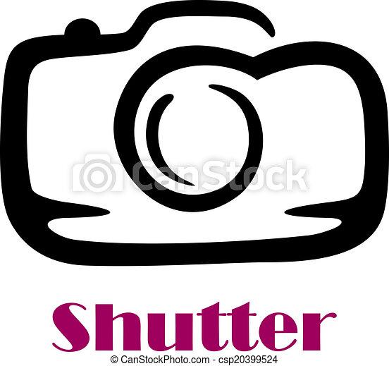 παραθυρόφυλλο , γράφω άσκοπα , δραμάτιο , φωτογραφηκή μηχανή , λέξη  - csp20399524
