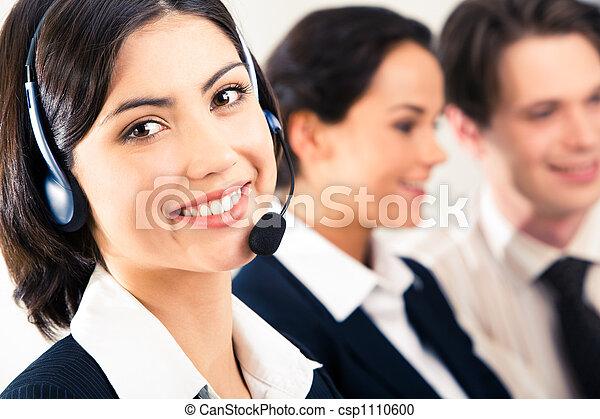 πελάτης , εκπρόσωποs , υπηρεσία  - csp1110600