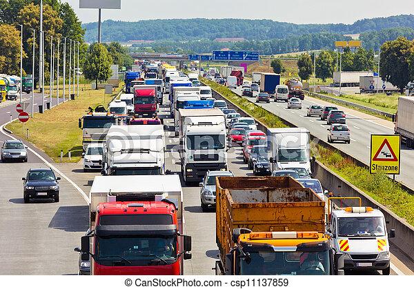 πελτέs , κυκλοφορία , εθνική οδόs  - csp11137859