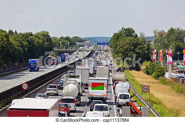 πελτέs , κυκλοφορία , εθνική οδόs  - csp11137884