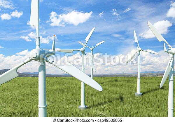 περιβάλλον , γενική ιδέα  - csp49532865