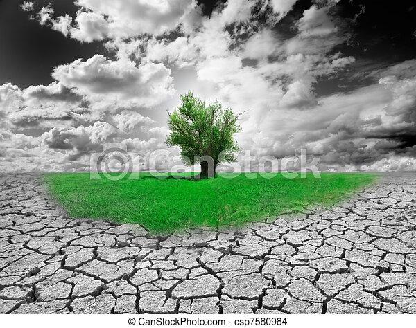 περιβάλλον , γενική ιδέα  - csp7580984
